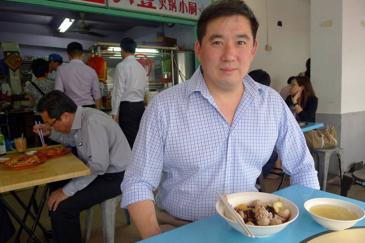Mr Mark Shaw's favourite bak chor mee is from Block 71, Seng Poh Road in Tiong Bahru.