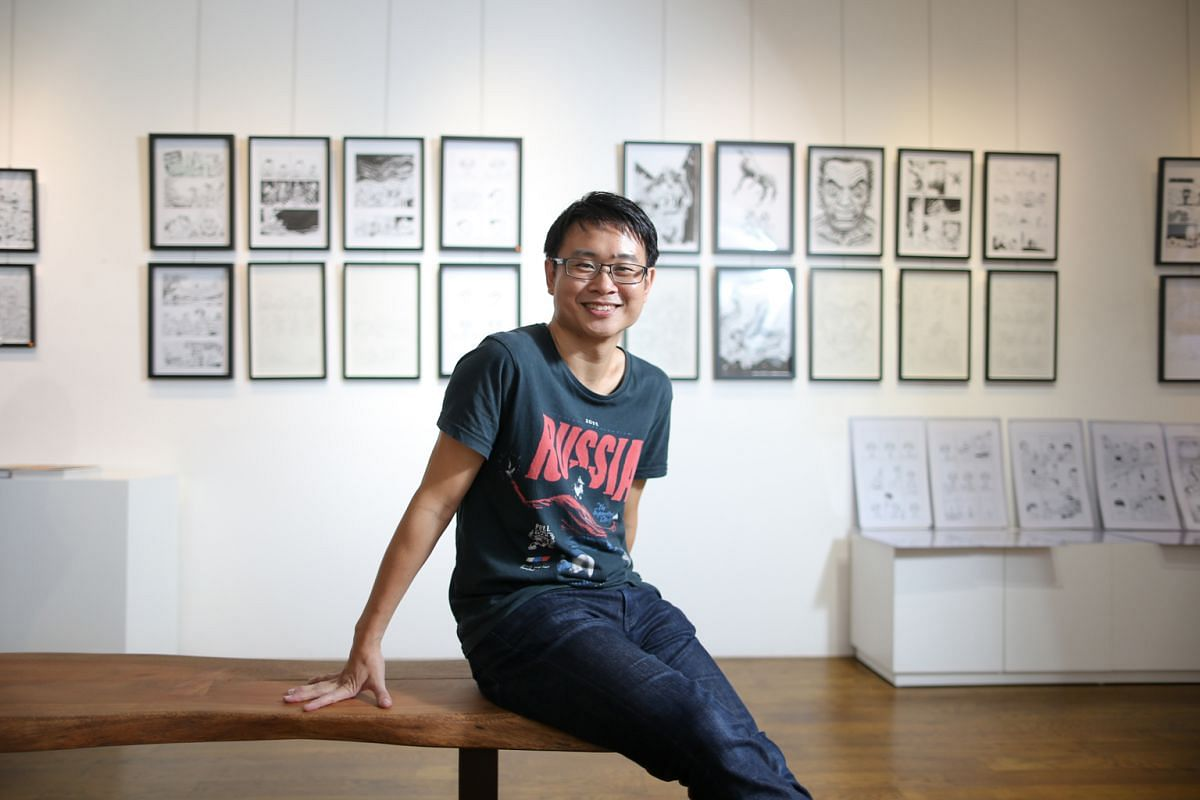 Sonny Liew received the National Arts Council's Young Artist Award in 2010.