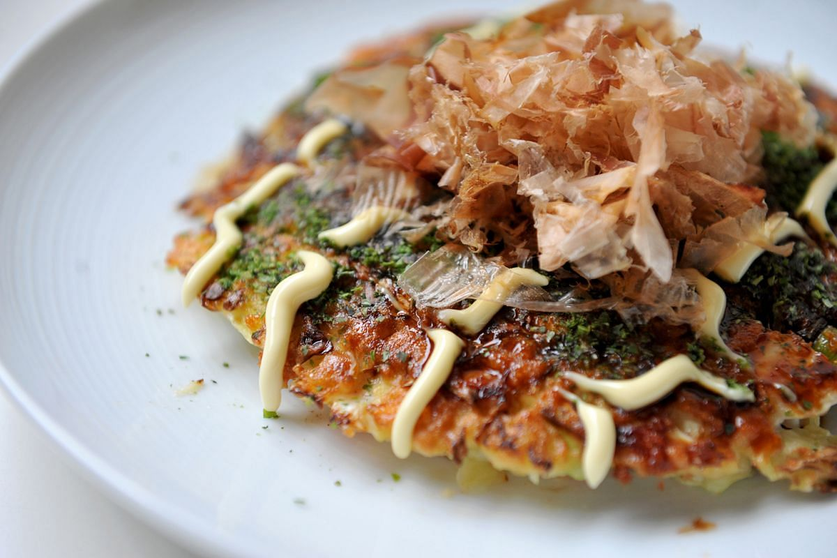 Cabbage is the main ingredient in okonomiyaki, but you can add anything else you want to the pancake.