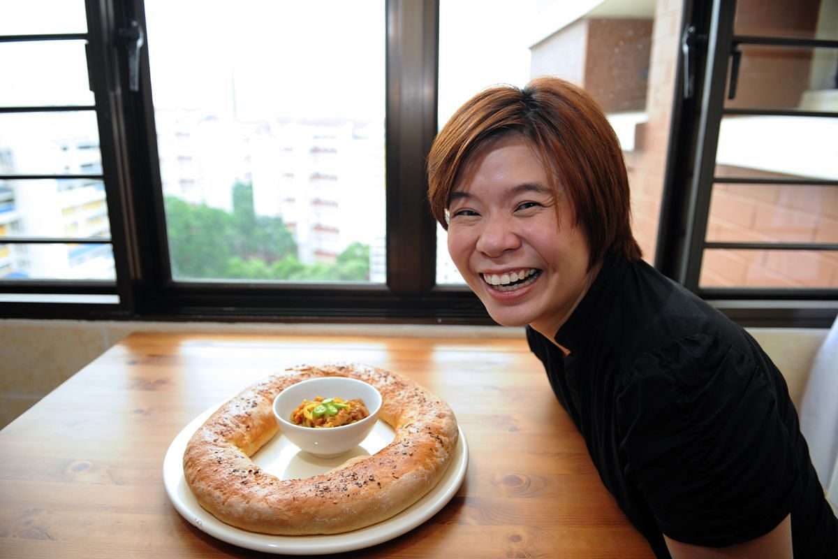 Ms Sharon Mah's love affair with food started when she went to England for her studies.