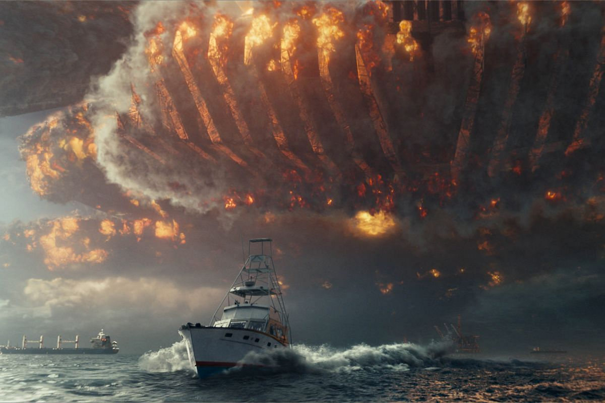 Mankind battle aliens once more in Independence Day: Resurgence.