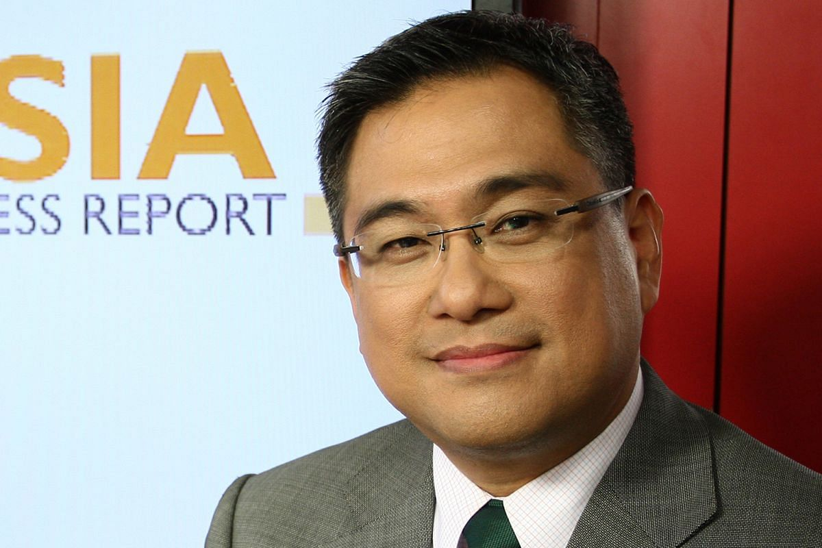Mactan Island (top), near Cebu City, is a favourite place to stay for BBC World News anchor Rico Hizon (above).