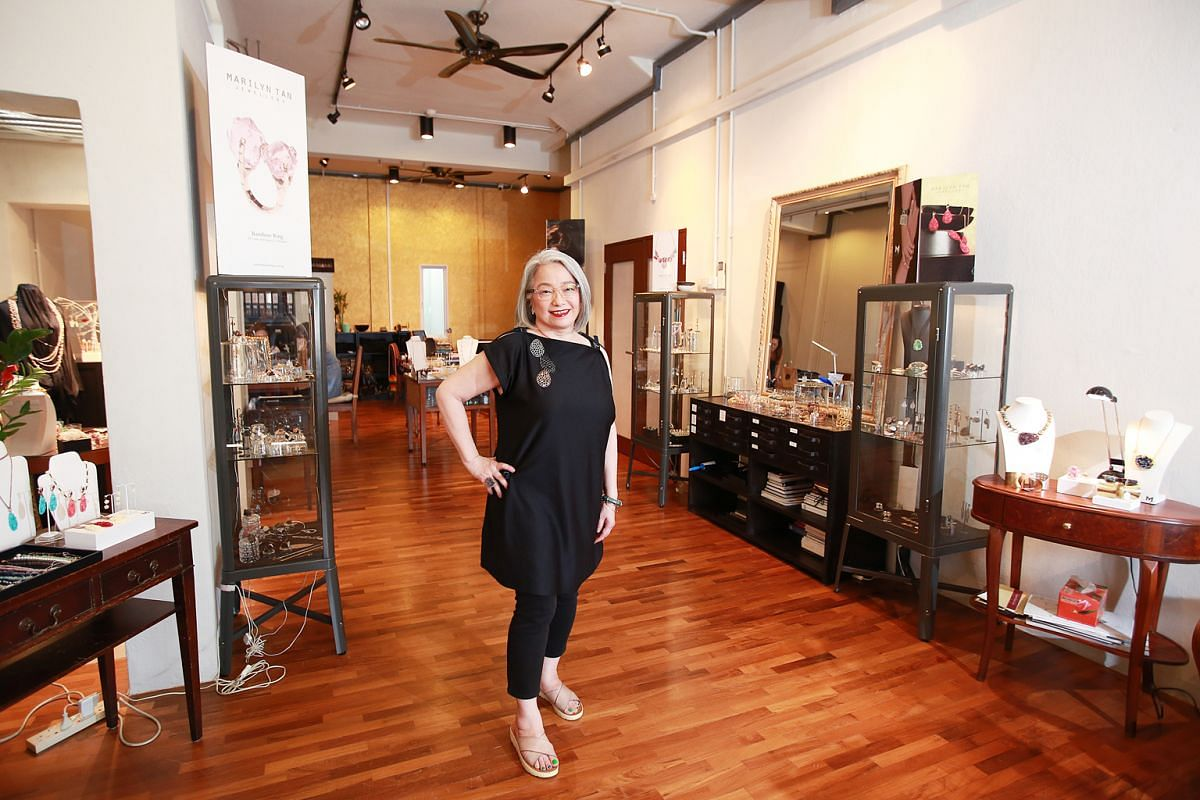Even after two decades in the business, seeing a stranger wear her pieces and want to buy her stuff is the best feeling in the world for Marilyn Tan.