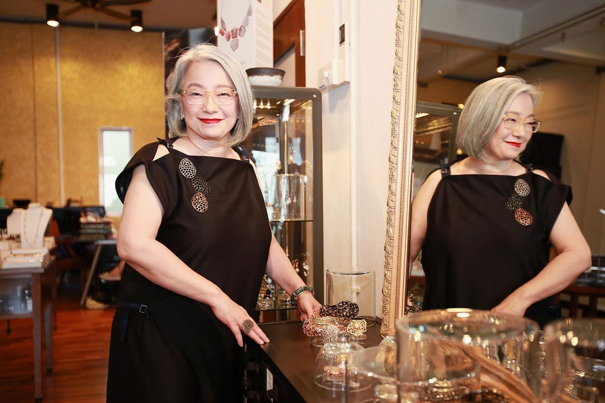 Jewellery designer Marilyn Tan is one of the few Singaporean designers to not only showcase her pieces at prestigious Parisian trade show Tranoi, but also stock her collections in England and America.