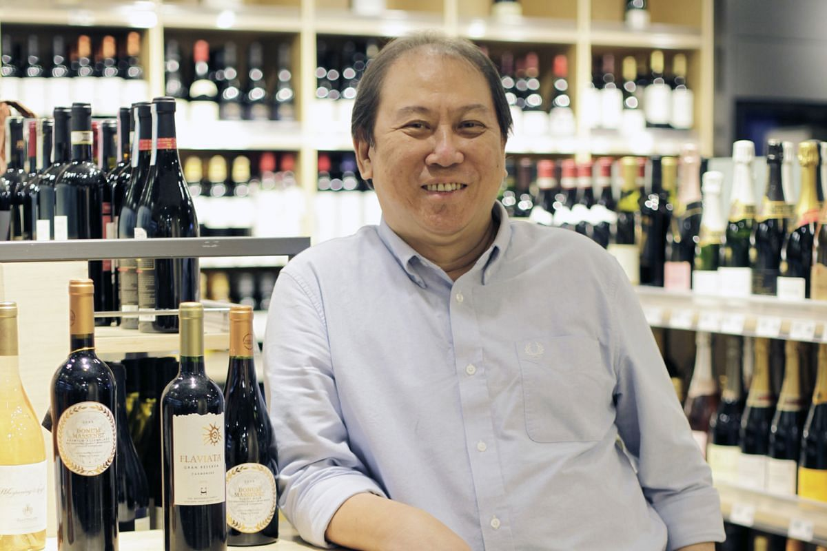 """When you have good food, it is possible to eat it on your own. Butwhen you have a very good bottle of wine, no matter how expensive it is,you will want to share it with somebody."" - MR DON TAY(above), on the best way to enjoy wine"