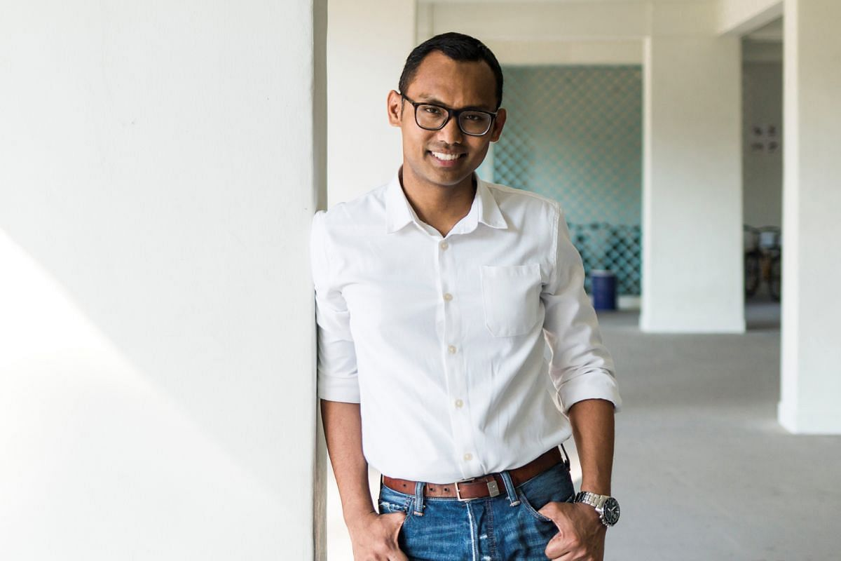 Imran Hashim's (above) friends, tickled by his e-mail updates on life in Paris, encouraged him to write a book about it. The result is his debut novel, Annabelle Thong.