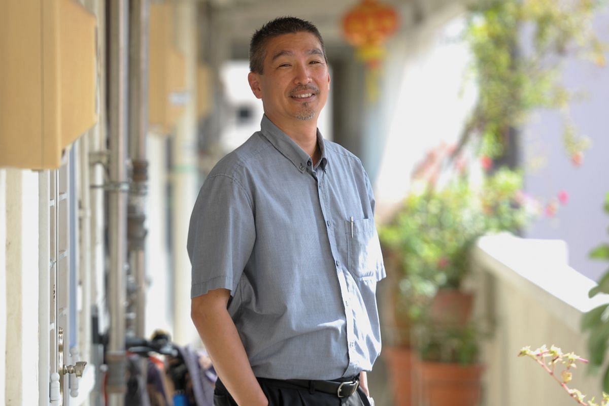 Foodie Daniel Chia stopped eating instant noodles more than 20 years ago and fast food more than 10 years ago.