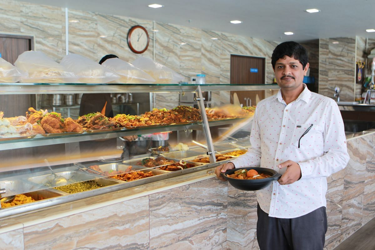 Mr Nallappan Subramaniyam decided to move Karu's Indian Banana Leaf Restaurant to Dunearn Road because the new location offered a bigger space.