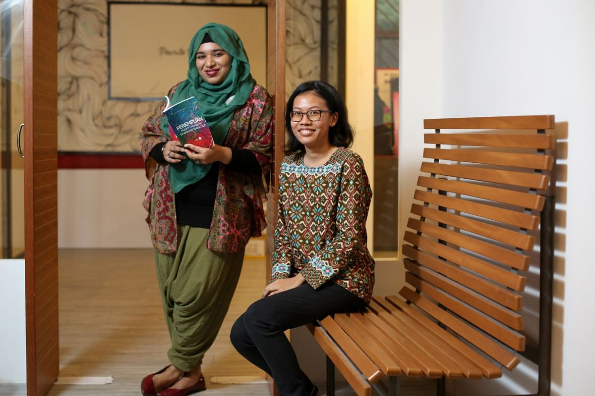 Nurul Huda Rashid (left) and Filzah Sumartono (right) have stories in Perempuan.