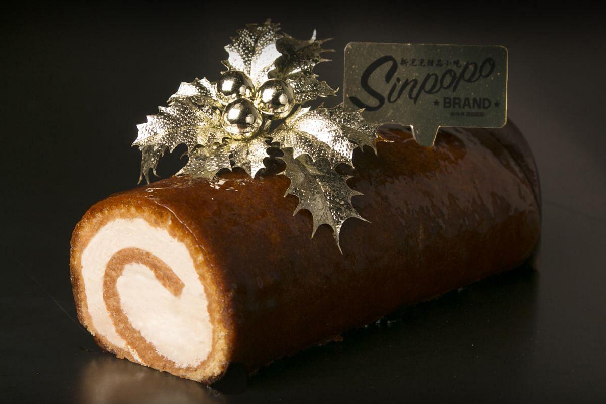 Sinpopo's best-selling original Gula Melaka Cake