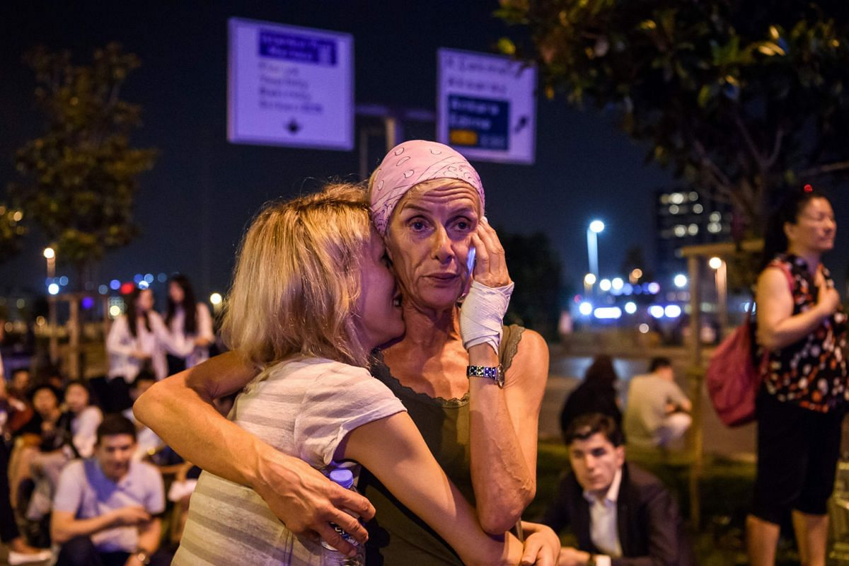 Travellers in shock after explosions and gunfire rocked Ataturk International Airport in Istanbul – Turkey's largest airport last June. The attack, carried out by multiple suicide bombers, left 45 people dead. The spate of terrorist attacks has h