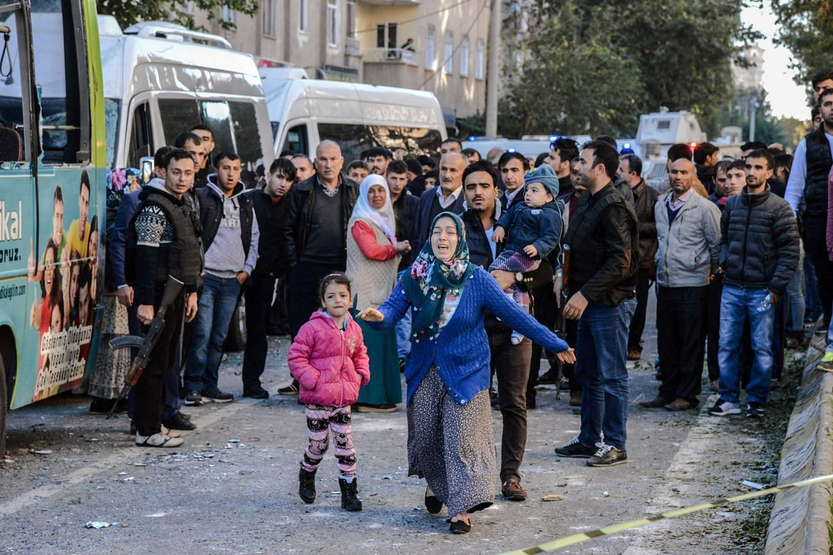 A car bombing in the south-eastern Turkish city of Diyarbakir, carried out by Kurdish militants in November last year, killed eight people and wounded more than 100. Some cities have been targeted by both ISIS and Kurdish separatists.