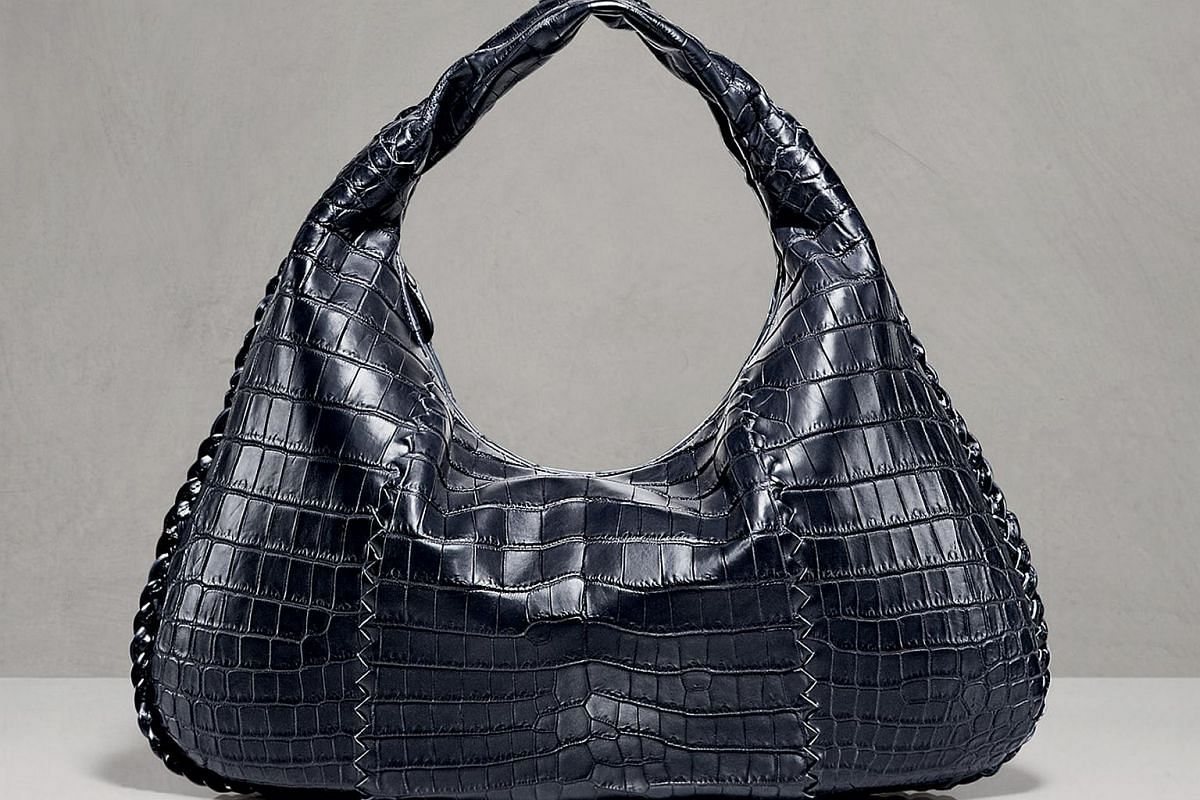 Create a bespoke item at these labels: Bottega Veneta croco Veneta bag. Prices start at $40,500 for a customised version.